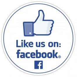 Like us on: Facebook
