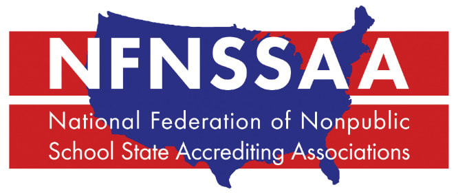 NFNSSAA Logo, National Federation of Nonpublic School State Accrediting Associations